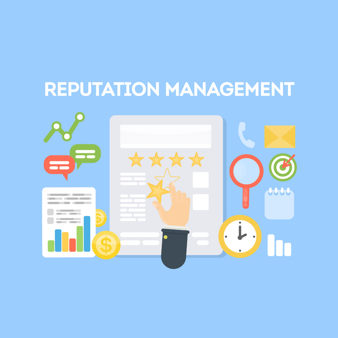 online reputation review management graphic